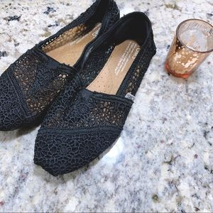 TOMS Morrocan Crochet Loafers